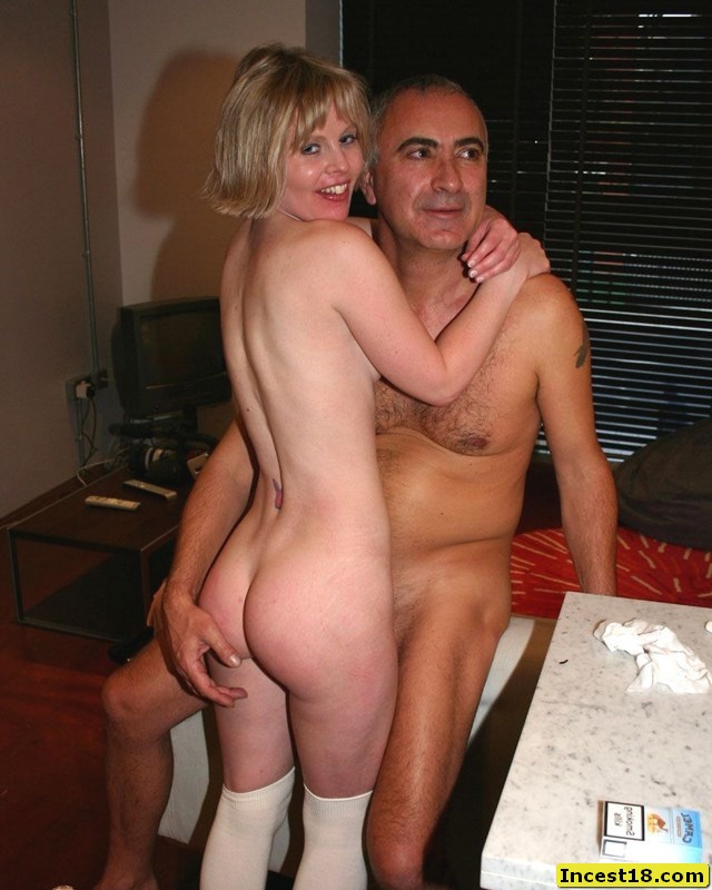 Dad and daughter nude